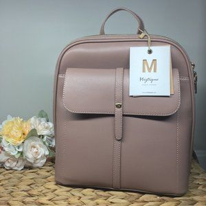 🆕 Miztique Mauve Fashion Backpack